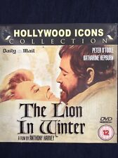 THE LION IN WINTER: Daily Mail promo DVD Peter O'Toole, Katharine Hepburn 129min