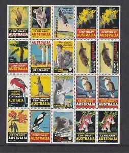 CN10) Australia 1934 Christmas Scouts Jamboree edition of Melbourne Centenary