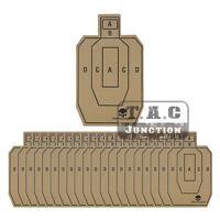 "20pcs 12"" x 20"" Professional Shooting Targets Practice Training Cardboard IPSC"