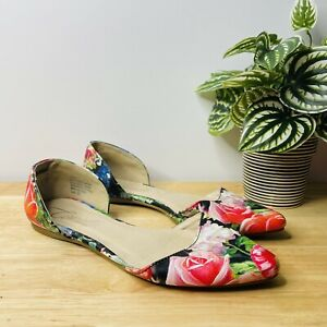 Corelli Women's Tiggy Floral Print Flat Shoes Size 37 Party Business Casual
