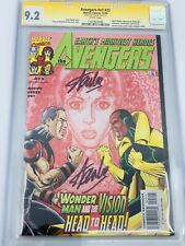 AVENGERS #v3 #23 CGC 9.4 SS STAN LEE DOUBLE SIGNED SIGNATURE SERIES RARE
