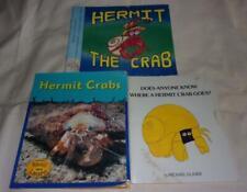 Set of 3 Hermit Crabs picture books