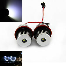 CREE 10W LED Angel Eye Halo Ring Kit White For BMW E39 E53 E60 E61 E63 E87