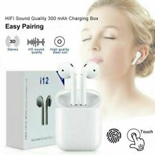 *NEW*  🎶🇺🇸 i12 TWS Bluetooth 5.0 Wireless Earbuds Earphones Touch Control