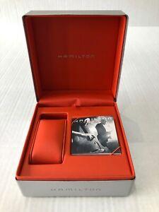 Hamilton Original watch box with warranty book and instruction book HGO2