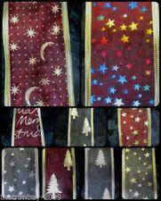 Christmas Organza Ribbons & Ribboncraft