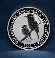 1999  AUSTRALIA KOOKABURRA 1 OZ. SILVER - FRESH FROM MINT ROLL