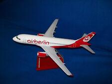 Modelo de avión avión airbus airberlin 1:100 Oficina de viajes