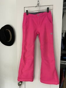 OBERMEYER Teen M Size 10 / 12 Girls Hot Pink Ski Snowboard Snow Pants