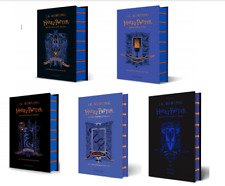 NEW Harry Potter Ravenclaw Editions 5 Hardcover Books Set - Philosopher, Chamber