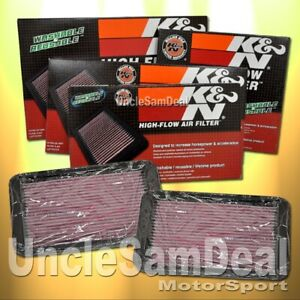 IN STOCK FOR NISSAN 07+ 350Z & INFINITI G KN K&N OE FIT AIR FILTER 33-2399 PAIR