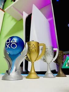 Trofei Psn Playstation 5 Trophy Platino Oro Argento Bronzo #ebayheroes
