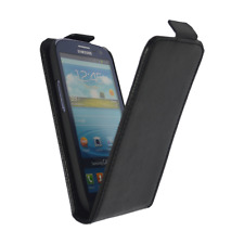 Flip Case Cover Schutz Hülle Handy in Schwarz für Samsung Galaxy S3