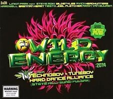Wild Energy 2014 Various Inc Tiesto Avicii Inna Kronic 3 CD