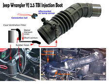Jeep Wrangler TBI 87-90  2.5 Air intake Boot Upgrade