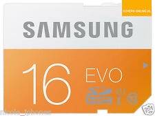 Samsung 16GB Evo MicroSDXC UHS-I Grade 1 Class 10 Memory Card with SD Adapter