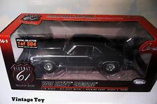 ~ Highway 61  1969 Chevrolet Camaro SS  - 1:18 diecast - Tuxedo Black -  1/504