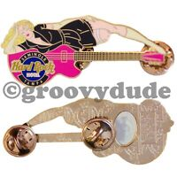 2004 Hard Rock Cafe Casino Tampa Seminole Hotel Guitar Pin Girl Server #1 HRC Le