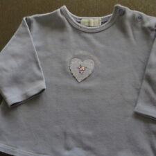 Retro Mexx T- Shirt flieder Langarm Jersey Filzapplikation  Gr. 62 top wie neu