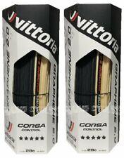 Vittoria Control Corsa G 2.0 clincher 700 x 28 black / tan sidewall / 2 tires
