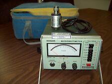 Boonton 42B Microwattmeter.e/w-41-4B Power Sensor,cable.Fully tested!