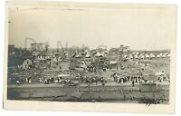 RPPC Tornado Damage WILKES BARRE PA Luzerne County Real Photo Postcard 1