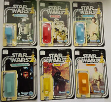 STUNNING RESTORATION 12 BACK SET STORE DISPLAY VINTAGE KENNER CARDBACK KITS WOW!