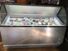 ISA Isabella 13 pan gelato display freezer