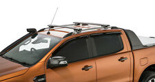 Rhino Rack Black 2 Bar SX Roof Rack Ford Ranger Wildtrak PX 4dr 06/12 on JA9141