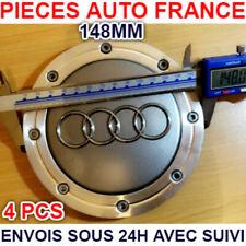 4 Cache Moyeu Centre de Roue Audi A3 A4 A6 A8 S3 S4...  4B0601165A 148mm