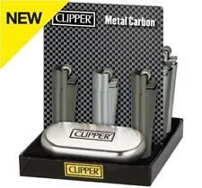 Metal Carbon Clipper Lighter Metal Flint With Case (CM109)
