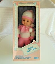 Vintage Doll 1979 Baby Soft Love Doll In The Original Box Playmates 15 Inch