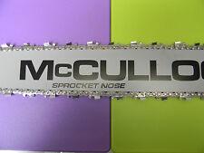 """MCCULLOCH  CHAINSAW 28"""" BAR 655 700 800 805 850 1-10 2-10 3-10 4-10     3/8"""