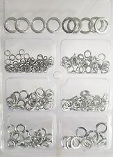 New Spring Zinc coated Assorted Washers Set Rust Resistant Various Sizes UK