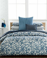 $285 - CALVIN KLEIN Bondi 3PC Queen Duvet Cover Set, 250TC Contemporary -- NIP