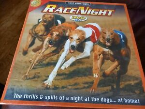 Host Your Own Race Night DVD Game Dog Racing Cheatwell Games 2008 New Sealed.
