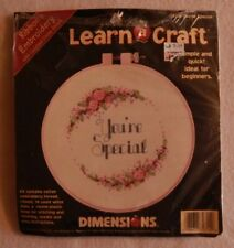 Dimensions Learn A Craft Cross Stitch Kit You're Special 72314 Opened Complete