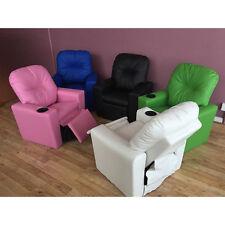 Kid Recliner Sofa Children Kids Lounge Chair pu Leather Arms holder  sc 1 st  eBay & Childrenu0027s Sofas u0026 Armchairs | eBay islam-shia.org