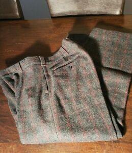 Heavy wool pants