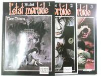 L' etat morbide, Bd. 1 + 2 + 3 komplett Feest Verlag Zustand 1-2