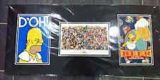 Framed Simpsons Postcard set- Still Sealed, Black Matte Card,VGC+