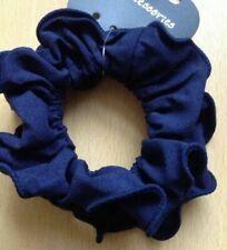 Elastico blu in tessuto per capelli da donna