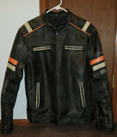 Pre-Aged Leather Jacket Size 2XL Great Condition.
