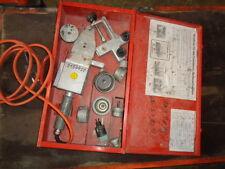 Aquatherm Muffenschweissgerät 458 Stumpfschweißgerät Kunststoff Schweißmaschine