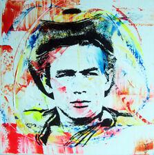 cf6679b14252 james dean TABLEAU pop street art graffiti PyB painting canvas french signed