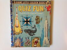 Giant Little Golden Book Quiz Fun Hundred of Questions & Answers 1959