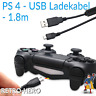 2x PlayStation 4 Ladekabel USB Controller Dual Shock PS4 Gamepad Stromkabel PS 4