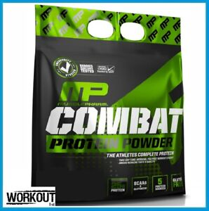 MusclePharm Combat Powder 10lbs / 4.5kg High Quality Protein Vanilla