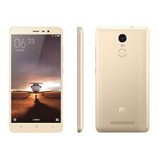 Xiaomi Redmi Note 3 Gold 16GB 13MP 4G LTE EXPRESS SHIP SEALED Smartphone