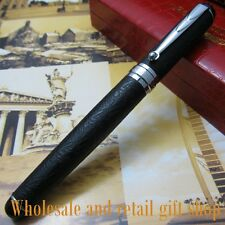 Crocodile 168 crocodile Black skin pattern Fountain pen